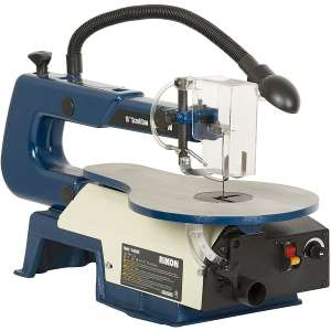 Rikon 10-600VS Scroll Saw with Lamp, 16-Inch