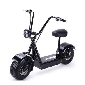 SAY YEAH Electric Bike Brushless Hub Motor Scooter with Seat