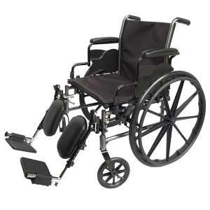 The Med-Elite Deluxe Wheelchair