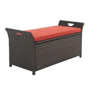 Ulax Furniture Outdoor Storage Bench