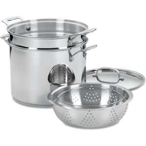 Cuisinart 77-412 Chef's Classic Pasta with Steamer Set