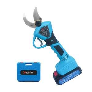 KOMOK Professional Cordless 2.0AH Electric Pruning Shear
