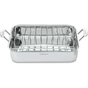Cuisinart Chef's Stainless Roaster Pan with Rack