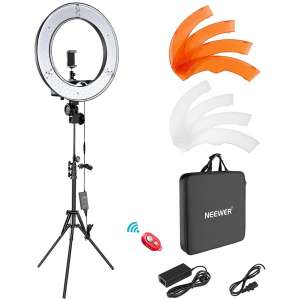 Neewer Ring Light Kit with a Carrying Bag