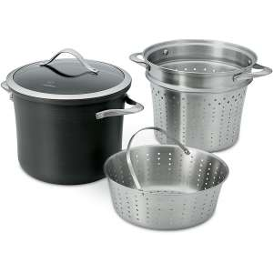 Calphalon Hard-Anodized Aluminum Pasta Pot
