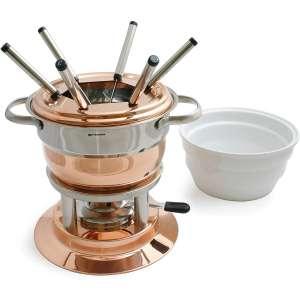 Swissmar Lausanne Copper Fondue Set