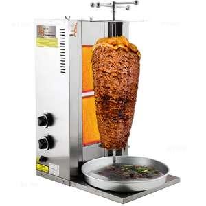 TurcoBazaar Grill Doner Kebab Machine, two Stove Propane