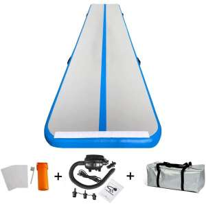 86 York Airtrack Tumbling Mat with Pump