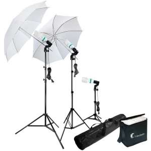 LimoStudio Day Light Umbrella Lighting Kit