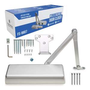 Fortress Hardware Company Door Closer with Fitting Instructions
