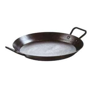 Lodge CRS15 15-inch Carbon Steel, Pre-Seasoned Paella Pans