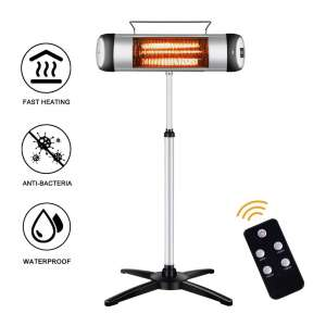 sundate Electric Infrared 24-Hour Timer Outdoor Heater