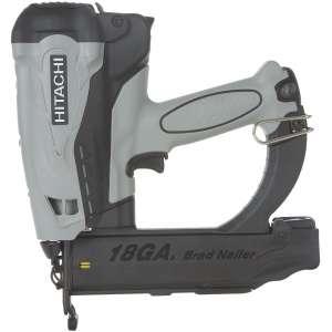 Hitachi Gas 18-Gauge Powered Straight Brad Nailer
