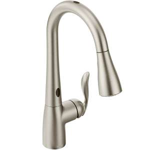 Moen Two-Sensor Kitchen Faucet, Spot-Resistant Stainless