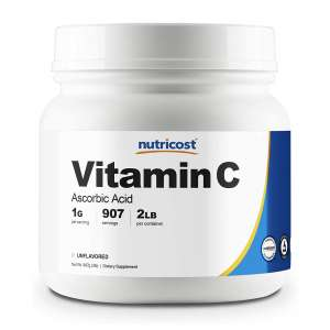 Nutricost Pure Vitamin C Powder