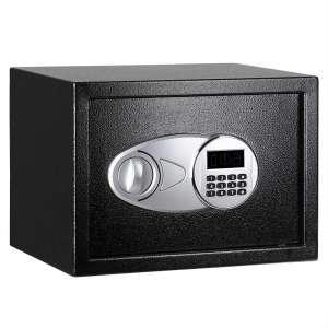 AmazonBasics Steel Safe Lock Box - 0.5 Cubic Feet