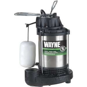 WAYNE Sump Pump with Vertical Float Switch
