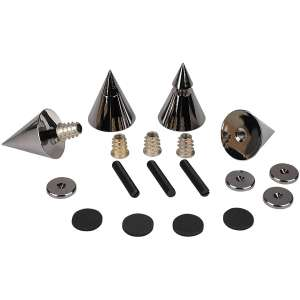 Dayton Audio Chrome Speaker Spikes - 4 Pcs.