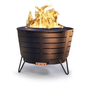 TIKI Outdoor Fire Pit with 25 inches