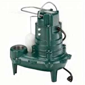 Zoeller 1/2 Horsepower Waste-Mate Sewage Pump