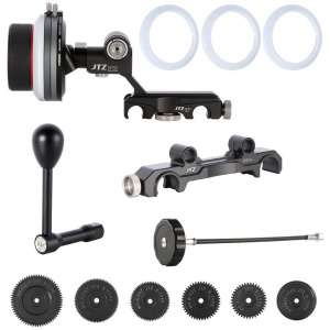 JTZ DP30 Follow Focus Kit for DSLR Cameras