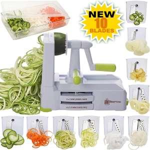 Brieftons Vegetable Spiral Slicer