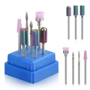 Bulex Nail Drill Bits - 7pcs
