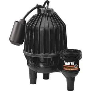 Wayne Thermoplastic 1/2 hp Sewage Pump