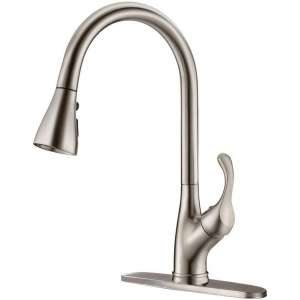APPASO Pull-Down Kitchen Faucet with Deck Plate