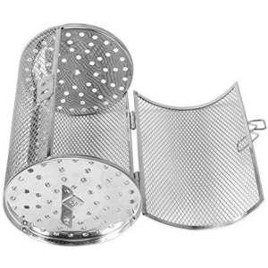 Yosoo Stainless Steel Rotisserie Grill Basket