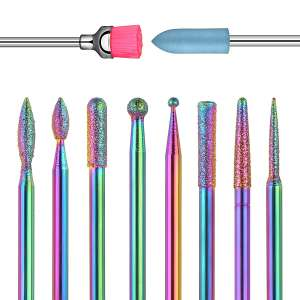 Ejiubas Nail Drill Bits for Manicure and Pedicure