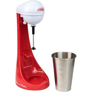 Nostalgia Electric Milkshake Maker with Mixing Cup