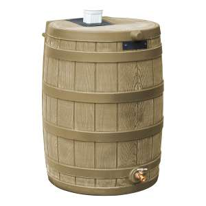 Good Ideas Rain Barrel; Khaki