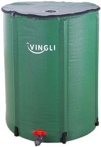 VINGLI Rain Barrels; Collapsible