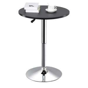 Topeakmart Adjustable Round Bar Table