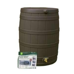 Good Ideas Rain Barrel; 50 gallons, Oak