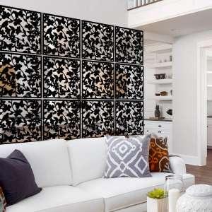 Lchen 12 Panel Hanging Room Divider