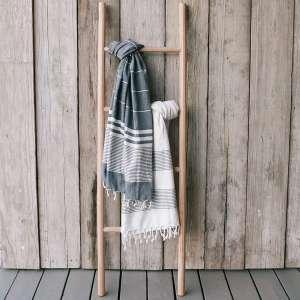 Sandstone & Sage Blanket Rack