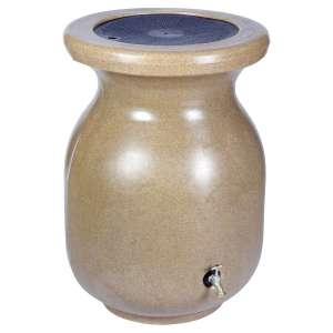 Koolscape Rain Barrel; Brown