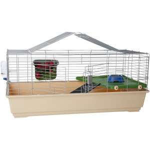 AmazonBasics Small Animal Cage with Accessories