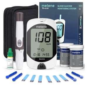 Metene Blood Glucose Monitor Kit