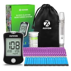 AUVON DS-W High-Tech Diabetes Blood Testing Kit