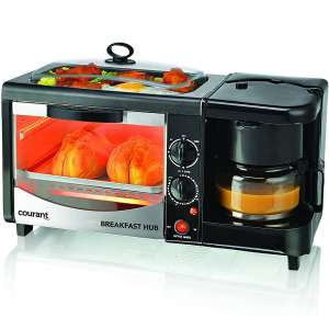 Courant CBH-4601R Multifunction 3-in-1 Breakfast Station