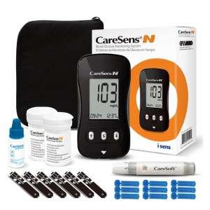 CareSens Diabetes Testing Kit with 1 Glucose Meter