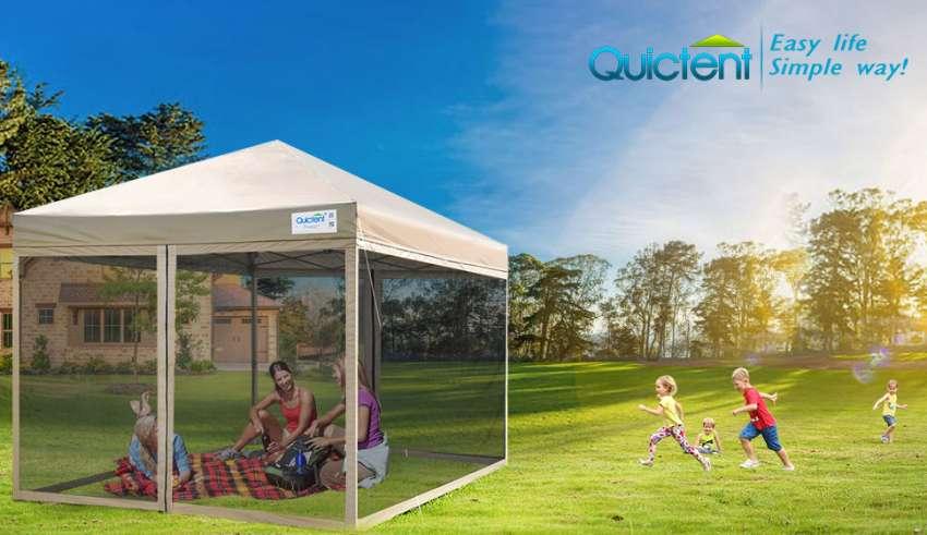 Screen House Pop-up Tent