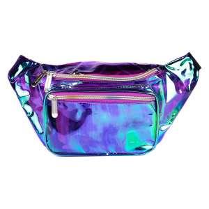 Sojourner Bags Holographic Fanny Pack Belt Bag
