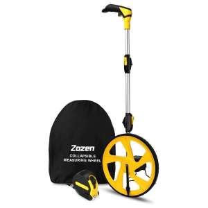 Zozen Measuring Wheel 9,999Ft Collapsible Kickstand and Carrying Bag