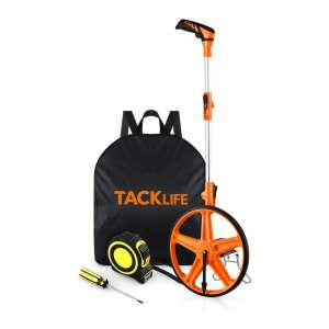 TACKLIFE Distance Measuring Wheel Folding Portable 3 Sections