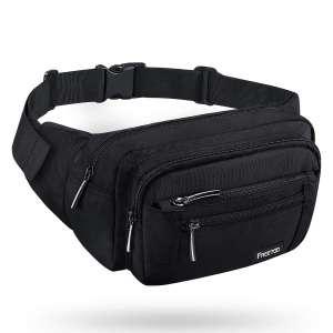 FREETOO Waist Pack Bag Adjustable Strap Belt Bag