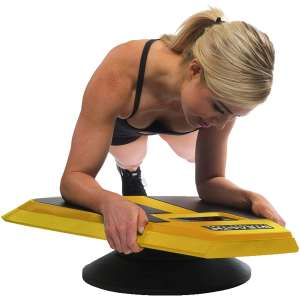 STEALTH Core Trainer for Building Muscles and Losing Body Fat (Yellow)